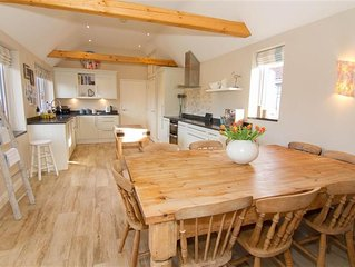A stylish house in Thornham offering luxury and spacious open-plan living.
