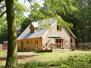 Deerpark Lodge sleeps six people and is perfect for a quiet getaway. Dog-friendl