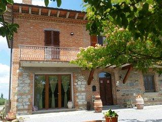 casa vacanza in Montepulciano con 6 posti letto 2 bagni