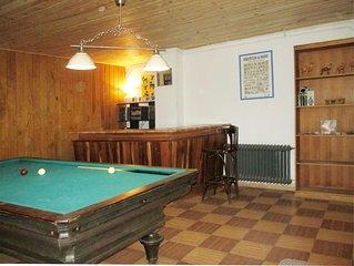 Casa en Miraflores, para grupos con piscina, barbacoa, bar, billar, pi