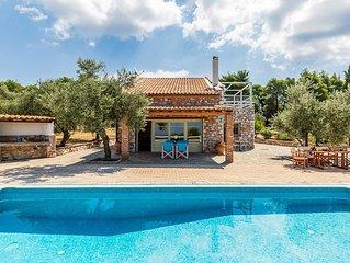 Villa Jasmine : comfortabele villa in een rustige omgeving, prachtig uitzicht