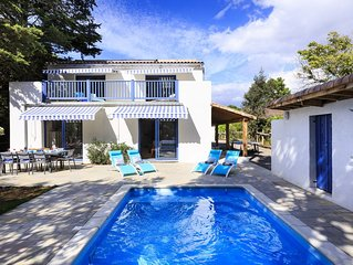 Large New Villa. High speciifcation. Sleeps up to 12. Beach 75 metres away