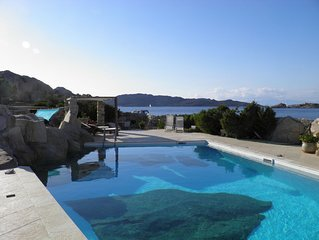 'La Forgia' villa con piscina sul mare