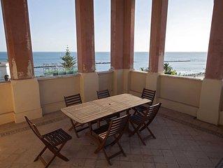 Villa Rosa - Appartamento primo piano fronte mare