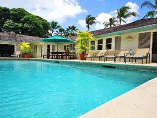 Great Value 4 Bedroom Villa With Private Pool - Only A Short Walk To Gibbs Beach