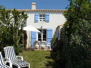 Noirmoutier - Maison d'architecte 3 pieces+terrasse + 2 velos