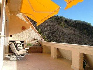 Gemütliche 3-Zimmer-Wohnung mit atemberaubender Sicht auf den Lago Maggiore