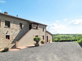 Apartment Podere Le Colmate  in Montecatini Val di Cecina, Riviera degli Etrusc