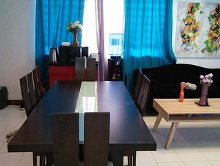 Davao City North Point with cable tv and free WiFi  1BR