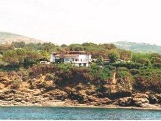 Ferienwohnnung in traumhafter Lage direkt über dem Meer mit WIFI