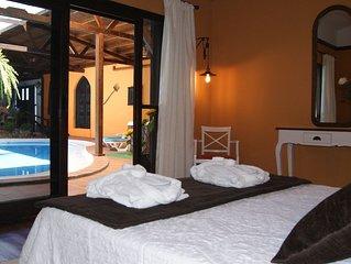 Fuerteventura, Canary Islands, Spain  Piscina y Jacuzzi climatizada uso completo