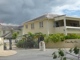 Well appointed home with pool in gated community. Close to Oistins & Miami Beach
