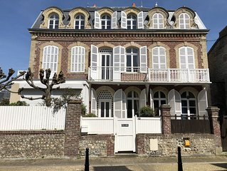 Maison bourgeoise a 50m de la plage: l'Abri Cotier