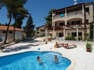 Apartments Vjera, (3037), Sumartin, island of Brac, Croatia