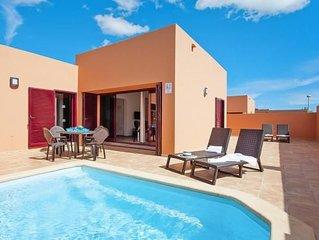 Ferienhäuser Viviendas Vacacionales Flamingo, Corralejo  in Fuerteventura - 4 Pe