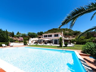 Villa With Private Pool and Sea Views - Sleeps 12-15 - 6 Bedrooms 5 Bathrooms