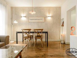 Charming Gran Via - en el centro de Madrid - Apartamento para 4 personas