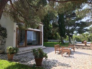 Villa con accesso al mare e infinity pool