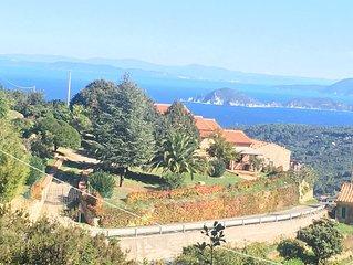 Traumvilla zwischen Meer und Bergen auf der grünen und sportlichen Insel Elba