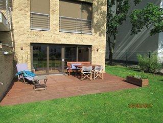 Schones Haus mit Terrasse und Garten in ruhiger Lage