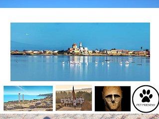 Casa vacanze a Cabras - Natura, archeologia, tradizione, buon cibo e accoglienza