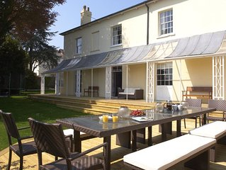 Luxury holiday house in Lyme Regis