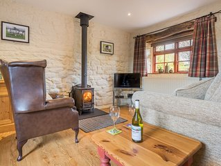 Hazelrigg Cottage, single story former milking parlour, pet friendly