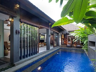 Luxurious Private Villa With Your Own Pool - Best Location In Seminyak