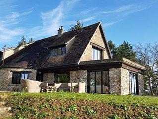 Maison avec vue exceptionelle proche de Giverny