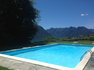 Villa Lenno in Lenno. A spacious Lake View Villa with Private Pool
