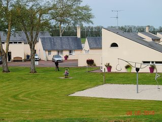 Carefully furnished cottage 5 km. from Mont Saint-Michel