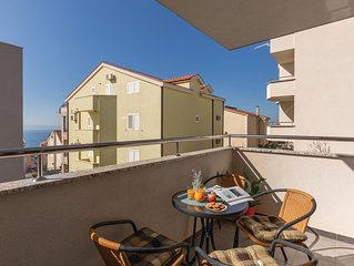 1 Zimmer Unterkunft in Makarska