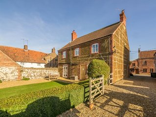 A handsome family home with Victorian double bay fronted entrance. Situated in t