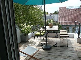 Großzügige Maisonette-Wohnung mit Dachterrasse in idealer Lage