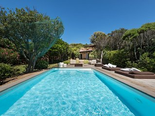Villa with private pool - walking distance to Porto Cervo centre