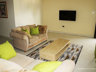 Luxury Fully Furnished 3 Bedroom apartment in a Serene residential area in