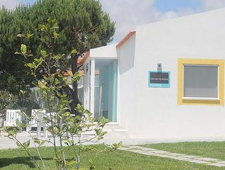 Family-friendly cottage, calm, pool, beach, view, playground, central location