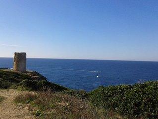 Sardegna: casa vacanza a 100 m. dal mare: Mandriola