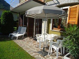 DIREKT AM STRAND/SEE, Fewo bis 4 Pers., Pool und Garten, Villa Soghetta Typ S2