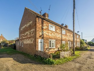 12 Barnwell Cottages is a traditional Norfolk end terrace cottage situated in th