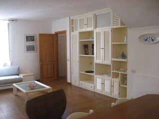 casa tipica indipendente,centrale,restaurata,tranquilla,trilocale,5ospiti, patio