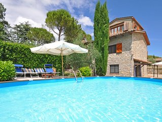 Villa in San Sano with 3 bedrooms sleeps 8