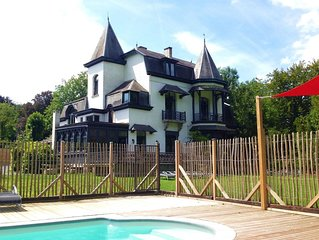 Luxury Mansion in Hastière-par-Delà with Swimming Pool