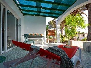 Modernes Apartment pResidente 2 fur max. 4 Personen, Terrasse, Pool, zentrumnah