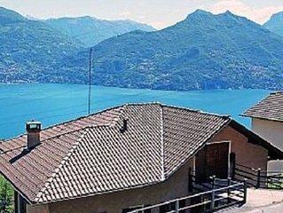 Apartment with view of Lago di Como