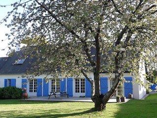 Maison de charme dans un hameau paisible à 300 m. de l'eau