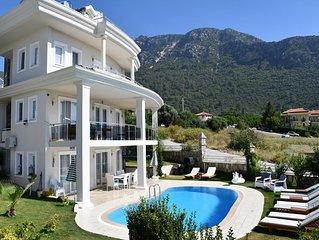 private 5 bedroom ropetackle villa in ovacik