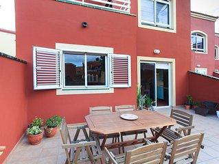DUNAS Gloria, acogedora casa con 3 dormitorios,  3 piscinas, terraza y BBQ.