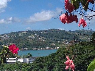 Kay Zanndoli, vue sur la mer, piscine, jacuzzi, jardin
