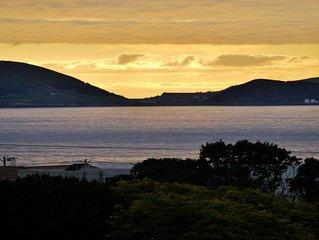 Vista soberba sobre a ilha do Faial!
